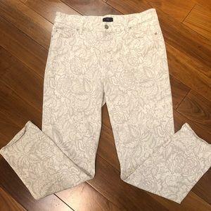 Print skinny pants